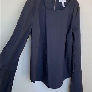 Dark blue blouse